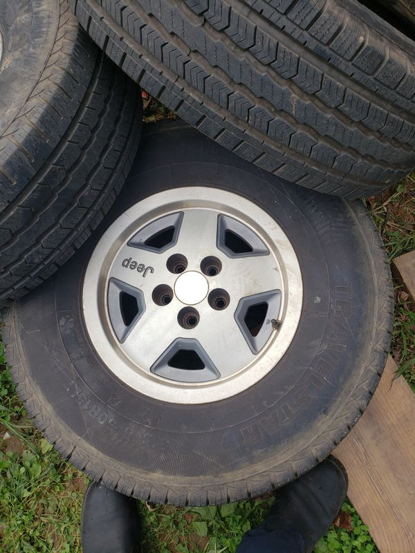 5x4.5 wheels and 31/{link removed} good tires