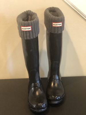Hunter boots size 7 for Sale in Herndon, VA