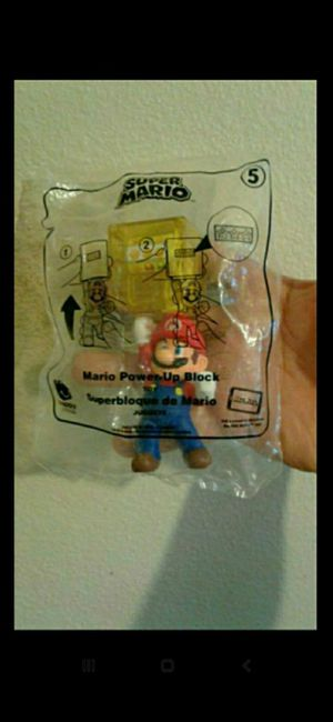 McDonald's Super Mario #5 Power Up Block Toy 2018 for Sale in Upland, CA