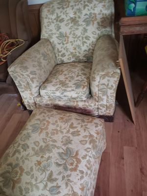 Chair with ottoman for Sale in Midlothian, VA