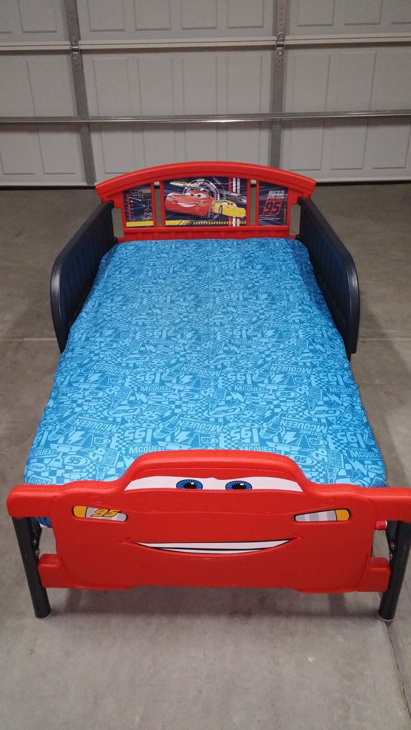 Toddler Bed And Matress Cars