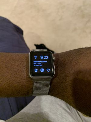 WOW STAINLESS STEEL Apple Watch 42mm series 1 for Sale in Washington, DC
