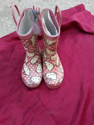 Toddler girl Hello Kitty rain boots size 7/8 FREE for Sale in Rialto, CA