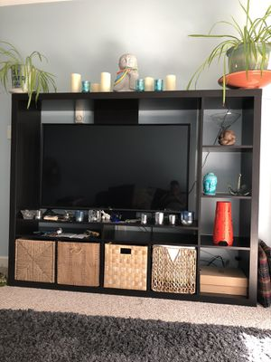 Free IKEA Entertainment center needs tlc for Sale in Holyoke, MA
