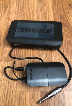 Shure BLX4 Instrument Wireless System for Guitar, Bass, etc. for Sale in Willowbrook, IL