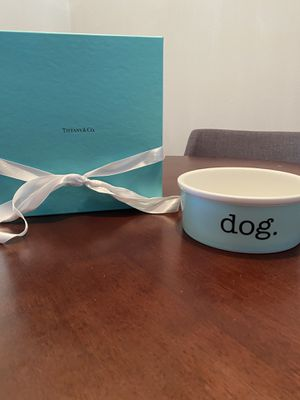 Tiffany & Co dog bowl for Sale in Kissimmee, FL
