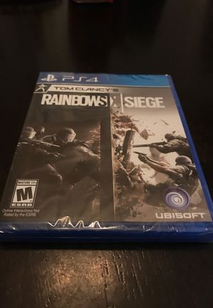 PS4 Rainbow Six Siege - Brand New Sealed for Sale in Pearland, TX