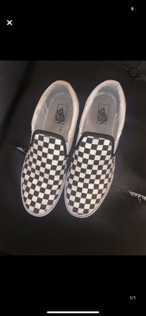 Checkered vans for Sale in Fort Wayne, IN
