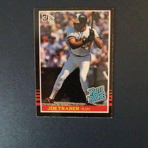 Jim Traber 1984 Donruss Baseball Card for Sale in Woodbine, MD