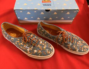 Men's toy story Vans for Sale in Palmdale, CA