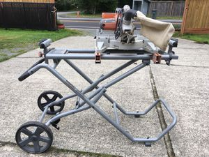 Rigid Miter Saw - mobile for Sale in Issaquah, WA