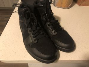 Air Jordan 1 Retro Black Leather and Suede for Sale in Orlando, FL