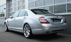 Mercedes Benz s class w221 LSR-style rear BUMPER BODY KIT for Sale in Irwindale, CA
