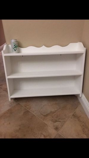 Reduced! 2 White Wall Shelves Small - $8 Medium - $20 for Sale in Phoenix, AZ
