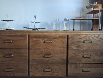 Vintage Wooden 9 Drawer Dresser for Sale in Portland,  OR