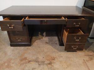 Vintage oak desk for Sale in Warner Robins, GA