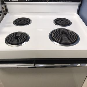 Hotpoint Electric Stove Range White for Sale in Weston, FL
