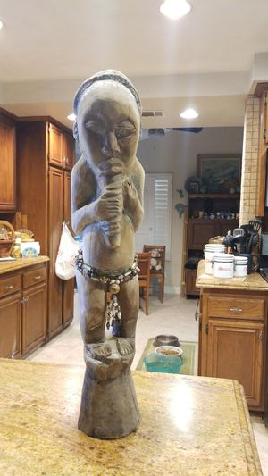 African Wood Sculpture for Sale in Riverside, CA