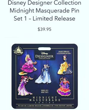 Midnight Masquerade Disney Pin limited collection for Sale in Los Angeles, CA