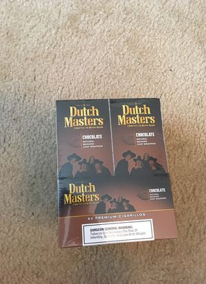 60 Chocolate Dutchmasters for Sale in Atlanta, GA