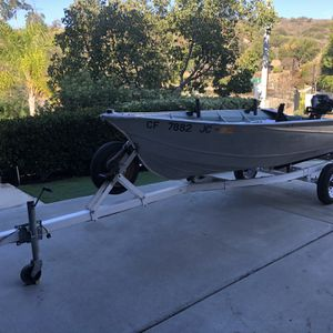 12Ft Valco Aluminum Boat for Sale in San Marcos, CA