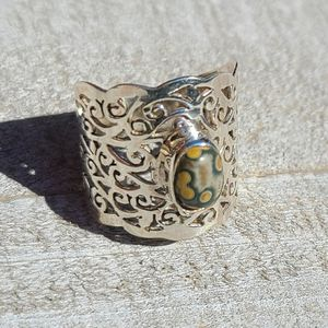 Ocean Jasper 925 Ring Size 6.5 for Sale in San Francisco, CA