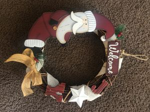 Santa wreath for Sale in Fontana, CA