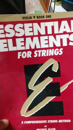 Essential elements for strings volume 1 used free for Sale in Fairfax, VA