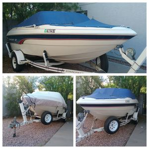 BEAUTIFUL Starcraft 1710 Bowrider in EXCELLENT Condition ( Bayliner Mastercraft Sea Ray merc cruiser fishing fish ski water inboard outboard boat ) for Sale in Mesa, AZ