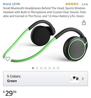 Bluetooth headphones for Sale in Norco, CA