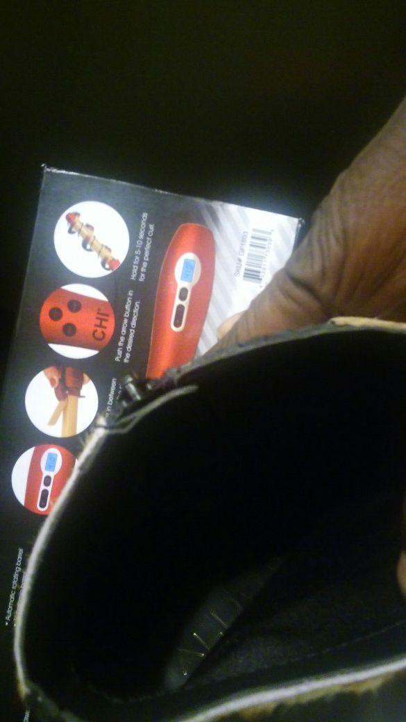 Snake Skin Leather ALDO Boot size 8