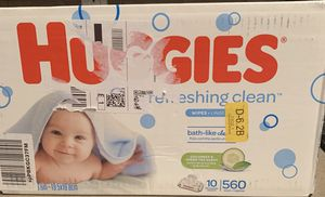 Brand new BOX huggies wipes /never used never opened for Sale in Dunwoody, GA