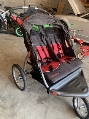 Baby trend expedition double jogging stroller for Sale in McDonough, GA