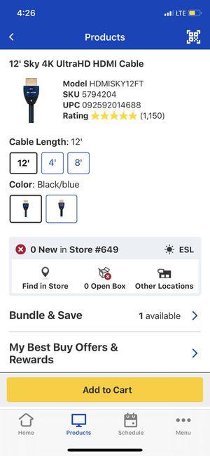 HDMI BRAND NEW for Sale in Fillmore, CA