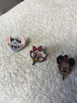 Disney Pins with original rubber back for Sale in Long Beach, CA