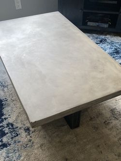 Concrete Coffee Table w/ X2 Side Tables for Sale in San Diego,  CA