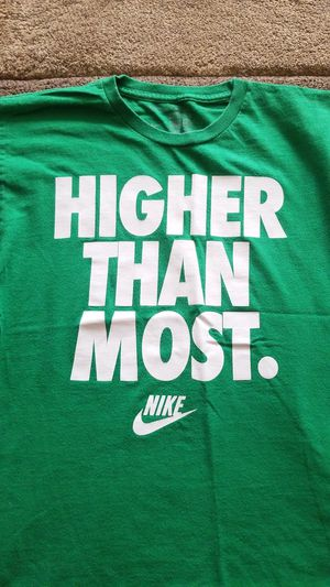 The rare discontinued Nike Higher Than Most T-shirt Mens Small for Sale in Spring, TX