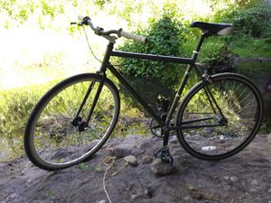 Felt Brougham single spd gray/white cruiser bike for Sale in Kenmore, WA