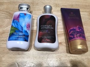 Three lotions fragrances for Sale in Seaside, CA