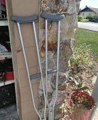"""Crutches 5'10"""" - 6'6"""" for Sale in Avon Park, FL"""