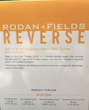 Rodan and Fields unopened Reverse kit for Sale in Tampa, FL