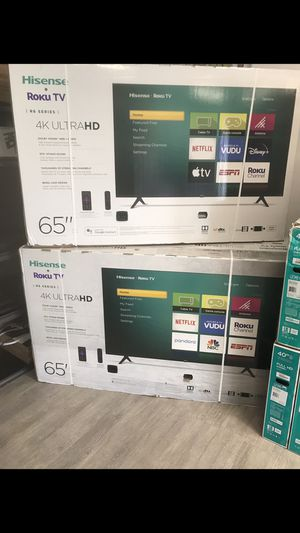 65 INCH HISENSE ROKU 4K SMART TV for Sale in Chino Hills, CA