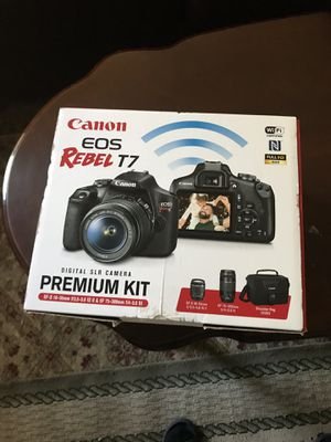 Canon Rebel T7 for Sale in Manassas, VA