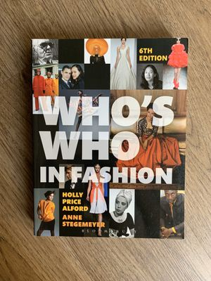 Who's Who In Fashion 6th edition for Sale in Los Angeles, CA