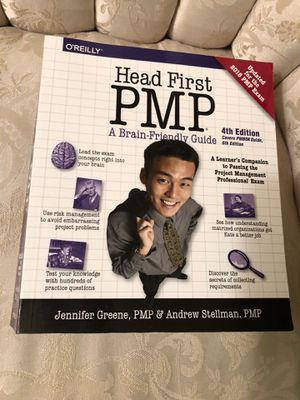Head First PMP: 4th edition covers PMBOK Guide, 6th edition for Sale in Silver Spring, MD
