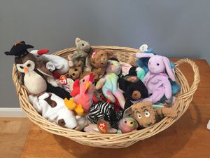 Beanie Babies about 30! for Sale in Fairview Park, OH