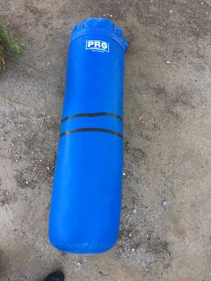 Punching /kick bad bag with stand and speed bag for Sale in Santa Clarita, CA