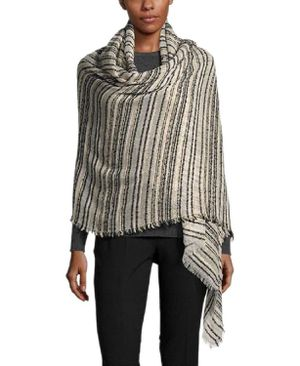 INC International Concepts Women's Textured Yarn Bouclé Shine Wrap (OS) for Sale in Norfolk, VA