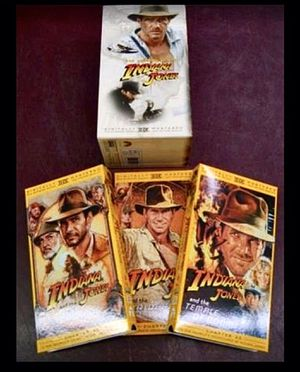 INDIANA JONES TRILOGY VHS for Sale in Columbus, OH