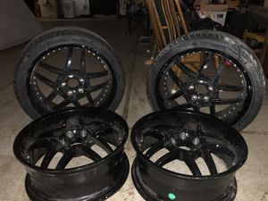 "4 20inch rims ""Black"" for Sale in Ashland, MA"